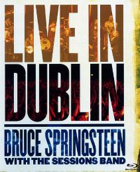 Cover Bruce Springsteen with The Sessions Band - Live In Dublin [DVD]